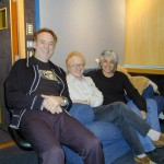 Phil Manzanera, Peter Asher at Abbey Road